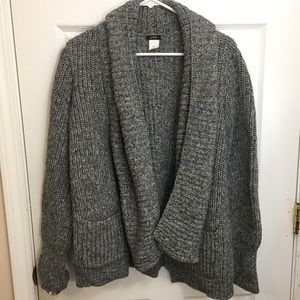 J.Crew Open Sweater Cardigan